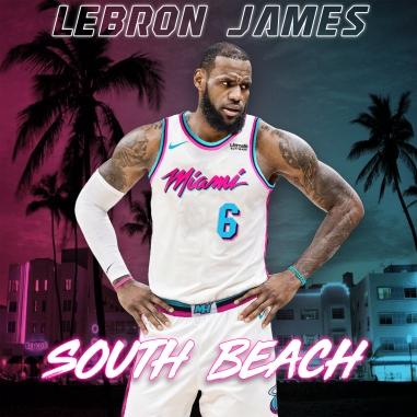 LeBron Miami Vice