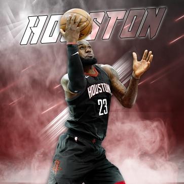 LeBron Rockets